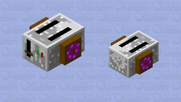 Breakfast Collection | White Llama Minecraft Mob Skin