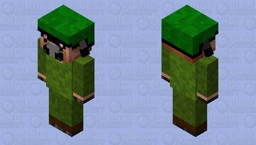 Military piglin Minecraft Mob Skin