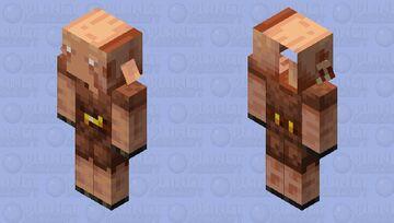 Dum piglinnnn Minecraft Mob Skin