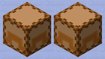 Shulker Wooden Box Minecraft Mob Skin