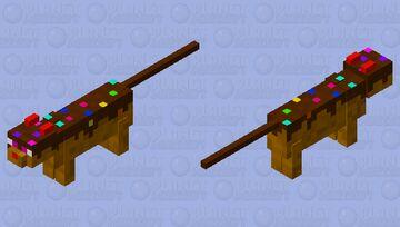 Cupcake cat Minecraft Mob Skin