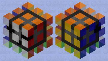 Rubix-cube slime Minecraft Mob Skin