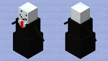 Office Snow Golem Minecraft Mob Skin