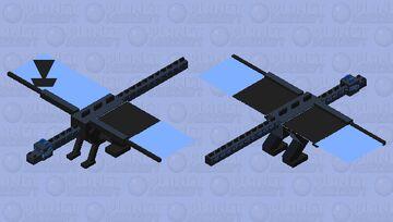 Mega charizard X                                                                                                          (no) better version Minecraft Mob Skin