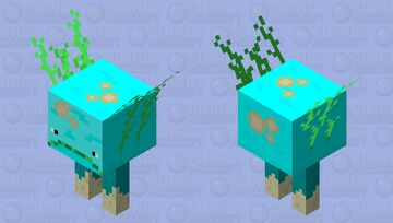 Biome Reverse: Strider Minecraft Mob Skin