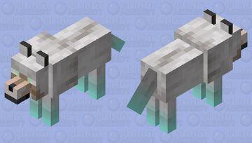 Magic Wolf Minecraft Mob Skin