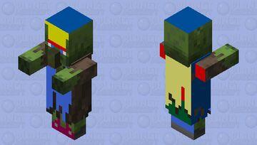 Zombie Poulet Chef Minecraft Mob Skin