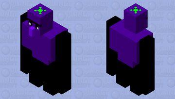 Eggplant Golem Minecraft Mob Skin