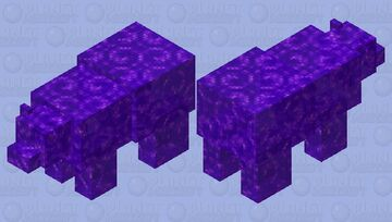 portal polar bear Minecraft Mob Skin