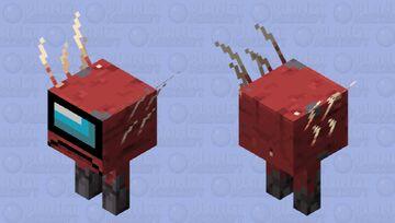 Stridermongus Minecraft Mob Skin