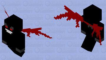 Dark Vex Minecraft Mob Skin