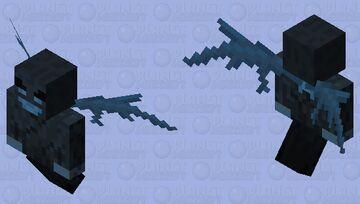 Dark scary vex Minecraft Mob Skin