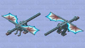 Soulsand Walley dragon Minecraft Mob Skin