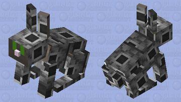 Robot rabbit Minecraft Mob Skin
