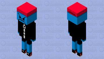 mean boyfriend (friday night funkin) Minecraft Mob Skin