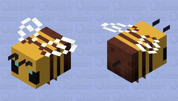 simple bees! Minecraft Mob Skin