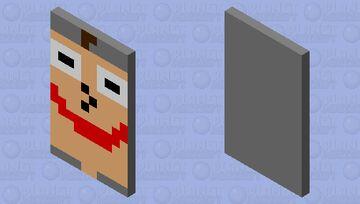 baldi's basics cape Minecraft Mob Skin