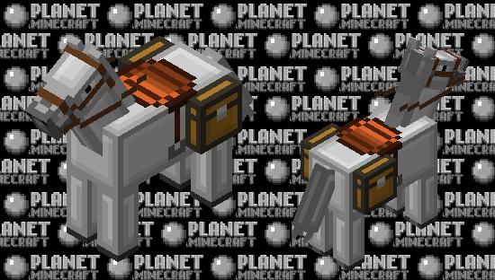 Simplistic White Horse Minecraft Skin
