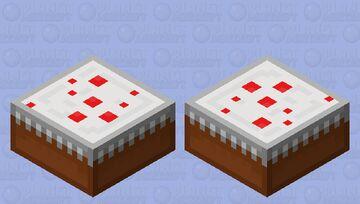 Cake/ shulker file/  re-shading Minecraft Mob Skin
