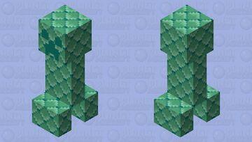sheet copper creeper Minecraft Mob Skin