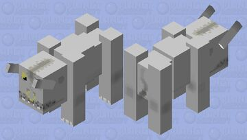 Behemoth Minecraft Mob Skin