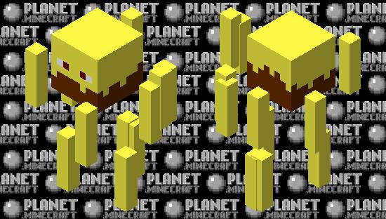 Simplistic Blaze Minecraft Skin