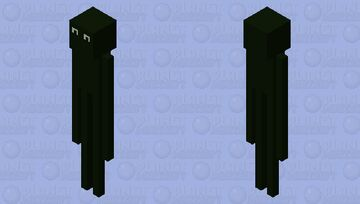 Roblox horror game paranormica Minecraft Mob Skin
