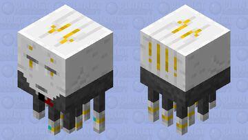 Tuxedo Ghast Minecraft Mob Skin