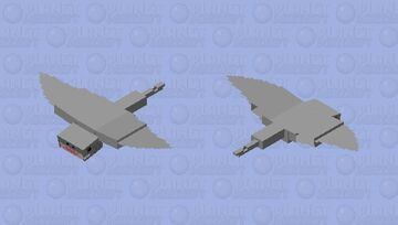 airplane shark Minecraft Mob Skin