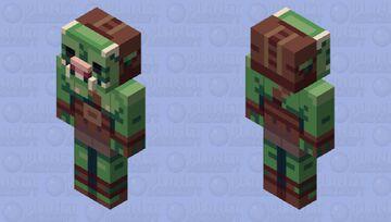 Gamorrean Fighter - The Mandalorian Minecraft Mob Skin