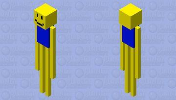Your Tall Noob Friend Minecraft Mob Skin