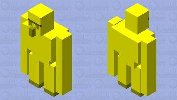 Golden Golem Minecraft Mob Skin