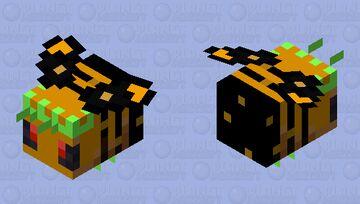 Queen Bee Minecraft Mob Skin