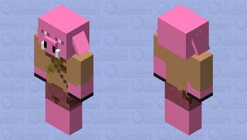 piglin wojownik Minecraft Mob Skin