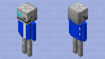 Sans Undertale Minecraft Mob Skin