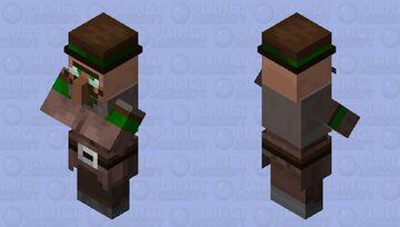 villager mayor Minecraft Mob Skin