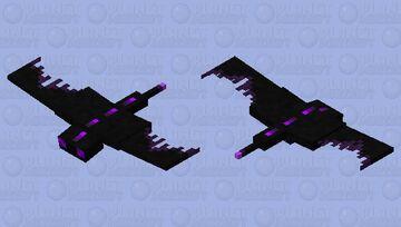 Shadow Phantom Minecraft Mob Skin