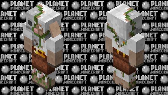 Sheeplin zombified / Remade / java Minecraft Skin