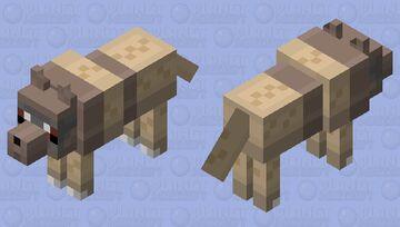 Zigzagoon Minecraft Mob Skin