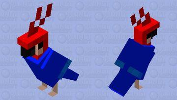 jacket parrot Minecraft Mob Skin