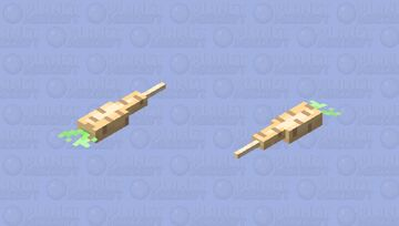 Parsnip Minecraft Mob Skin