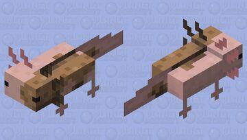 Chimera axolotl Minecraft Mob Skin
