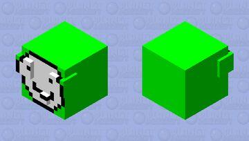 Dream Slime Skin Minecraft Mob Skin