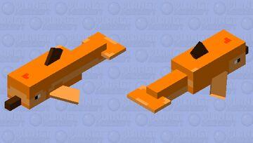 pumpkin dolphin Minecraft Mob Skin