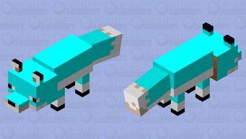 blue fox Minecraft Mob Skin