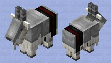 Iron Armored Goat Minecraft Mob Skin