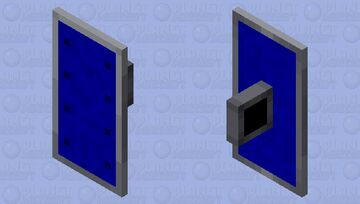 Blue Shield Minecraft Mob Skin