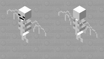 A bats skeleton Minecraft Mob Skin