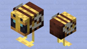 Chicken Bee Minecraft Mob Skin