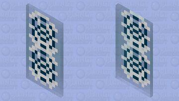 Snowllager Magic Ice Shield Minecraft Mob Skin